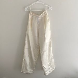 Topshop NWT White/Cream Pants